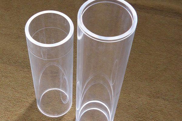 Custom acrylic tubes